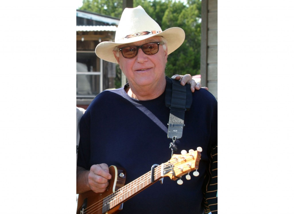 FILE - This Oct. 30, 2005 file photo shows Country singer Jerry Jeff Walker at a campaign fundraiser at Willie Nelson's ranch outside Austin, Texas.  ...