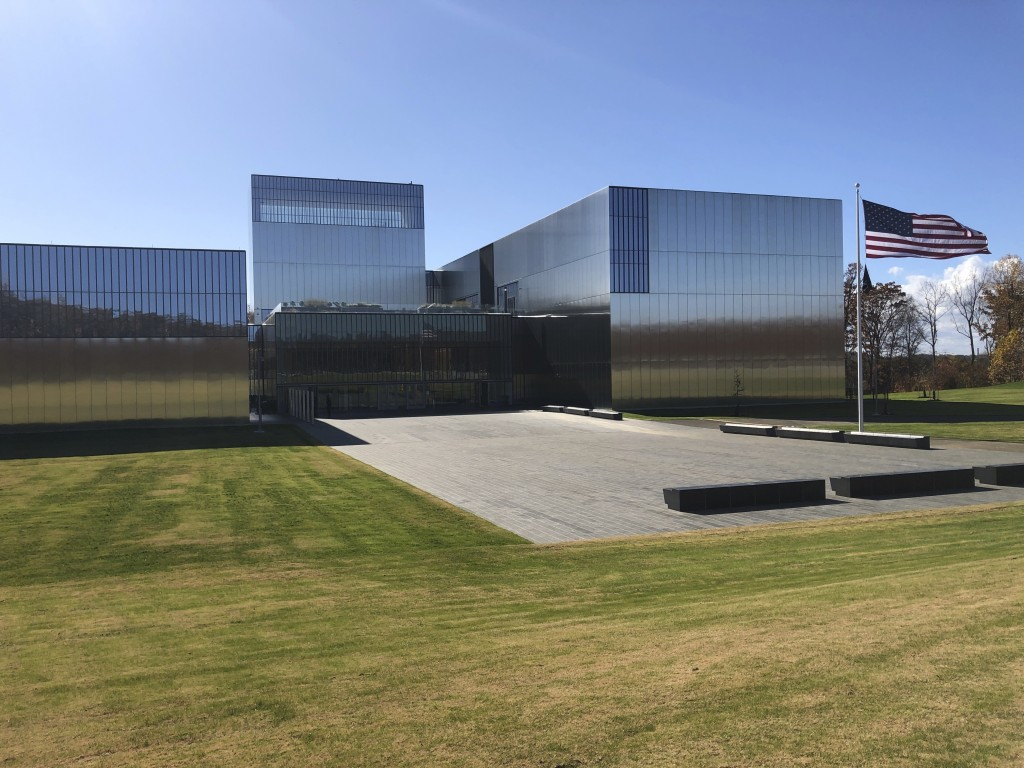 The National Museum of the United States Army is pictured on Tuesday, Nov. 10, 2020, in Fort Belvoir, Va. The museum opens Wednesday, Nov. 11 after mo...