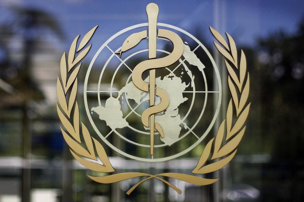 世界衛生組織標誌(照片來源:美聯社)