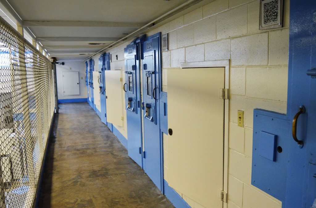 FILE - This undated file photo provided on July 11, 2019, by the South Carolina Department of Corrections shows the new death row at Broad River Corre...