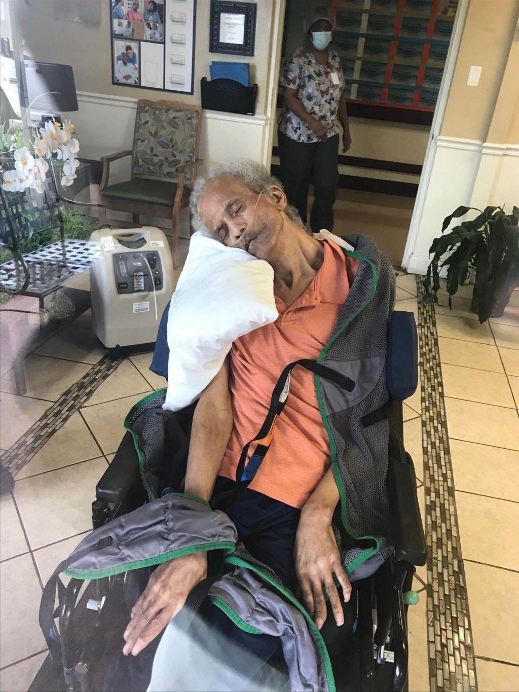 In this photo provided by Kevin Amerson through his attorney Shuttlesworth Law Firm, P.C., Amerson's father Donald Wallace is pictured in an undated p...