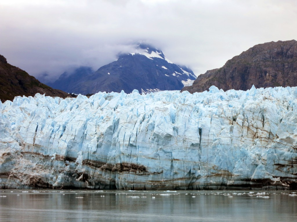 FILE - In this July 30, 2014, photo is Margerie Glacier, one of many glaciers that make up Alaska's Glacier Bay National Park. U.S. officials on Frida...