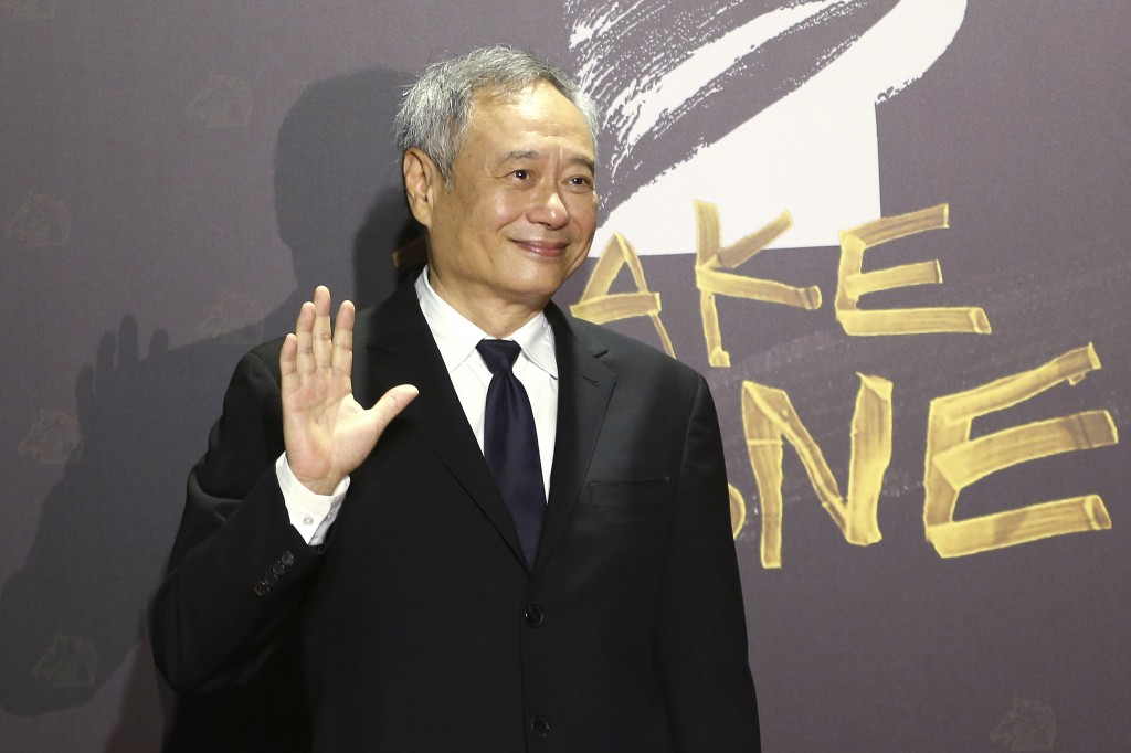 Taiwanese director Ang Lee arrives at the 57th Golden Horse Awards in Taipei, Taiwan, Saturday, Nov. 21, 2020. Lee is a guest at this year's Golden Ho...