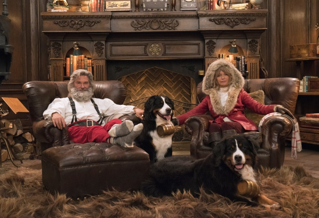 Columbus Christmas Show 2020 Kurt Russell, Goldie Hawn and Chris Columbus save Christmas