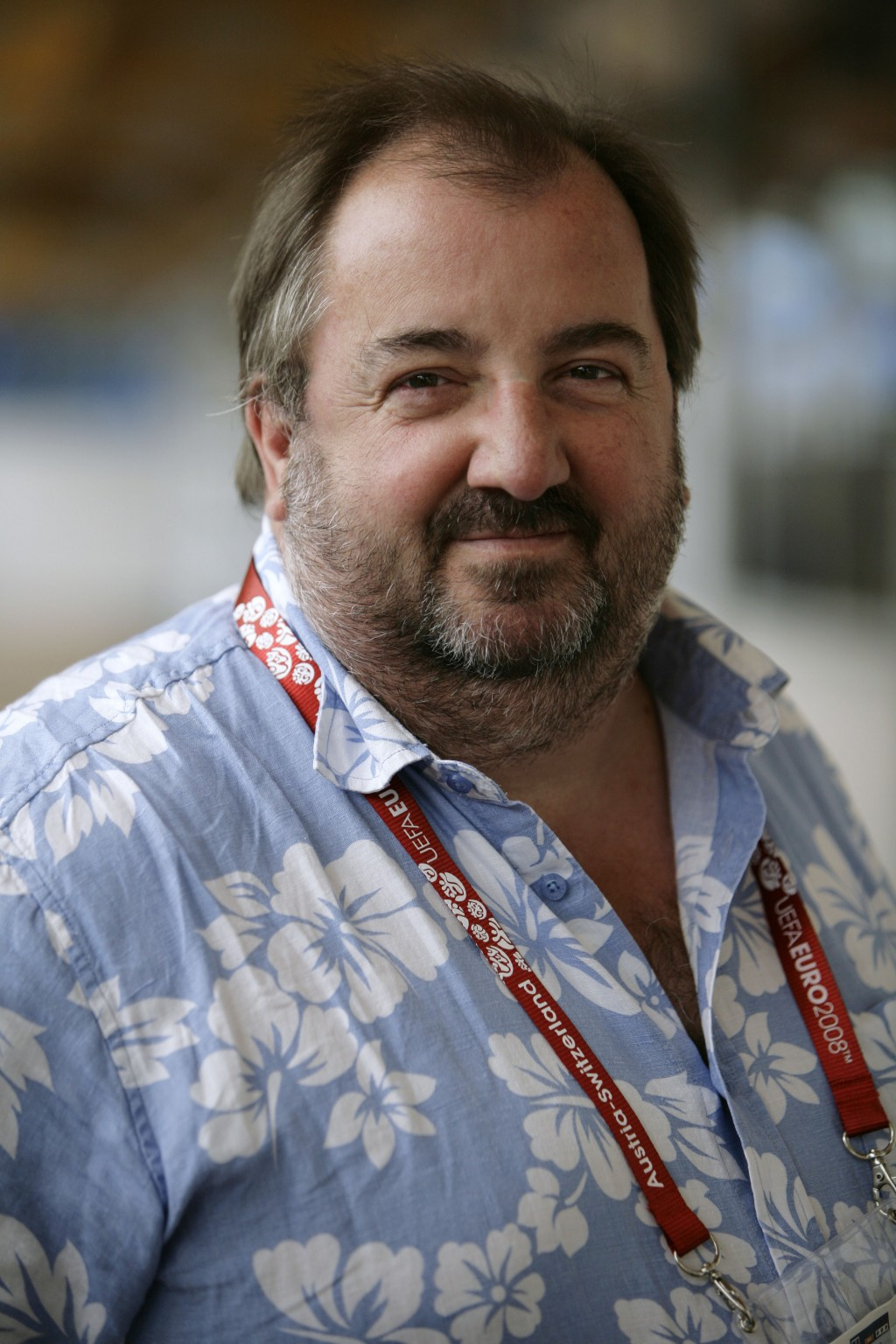 This 2008 file photo shows Simon Haydon, former Associated Press international sports editor. Haydon, who shaped The Associated Press' coverage of Wor...