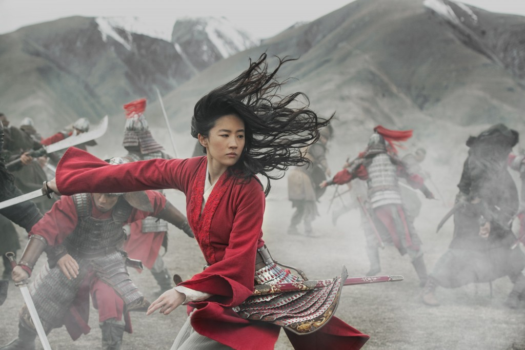 """This image released by Disney shows Yifei Liu in the title role of """"Mulan."""" Last month, Walt Disney Co. experimented with the $200 million """"Mulan"""" as ..."""