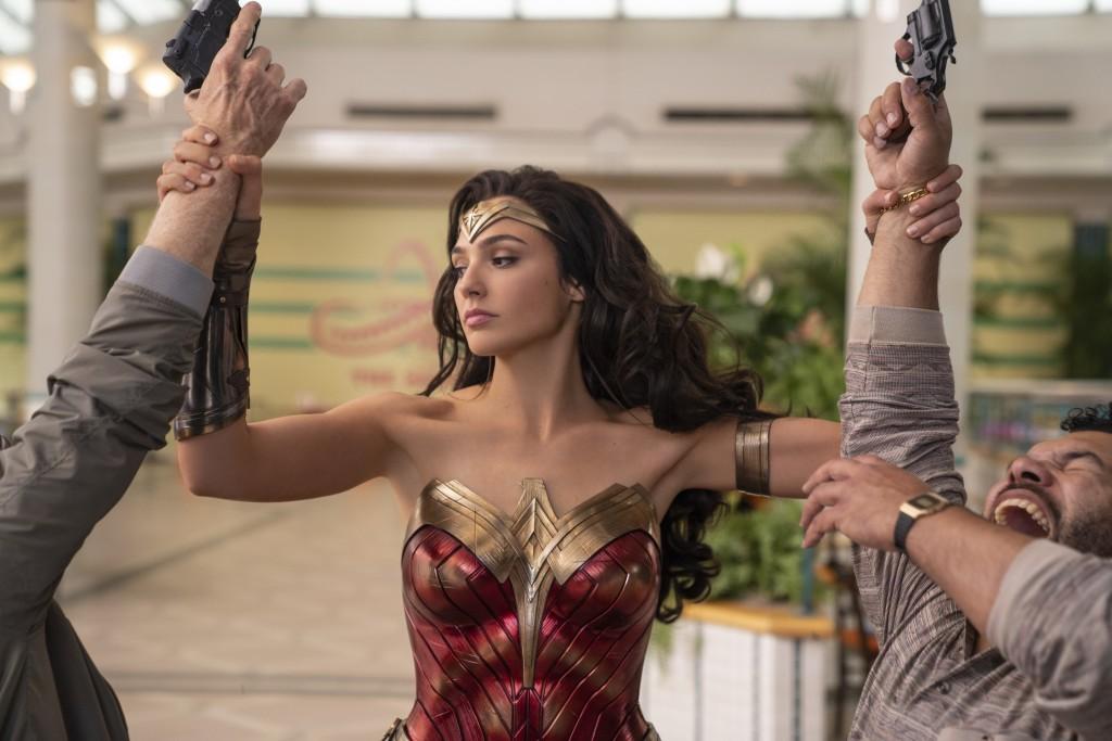 "This image released by Warner Bros. Entertainment shows Gal Gadot in a scene from ""Wonder Woman 1984."" WarnerMedia last week announced that ""Wonder Wo..."