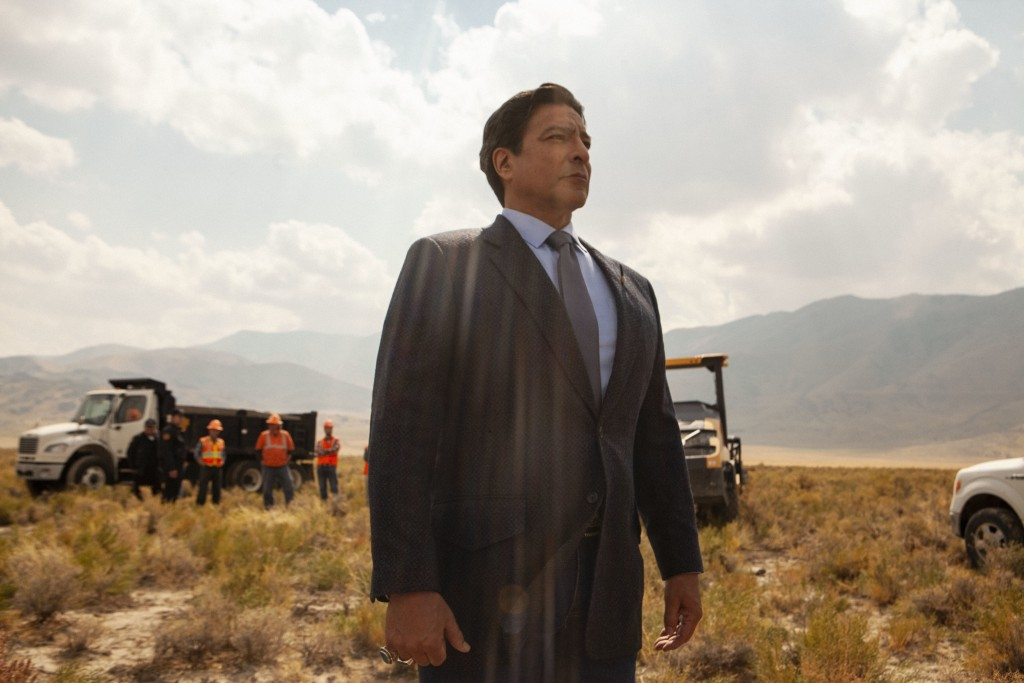 """This image released by Paramount Network shows, Gil Birmingham, from the series """"Yellowstone."""" Native American tribes and coalitions are condemning """"B..."""