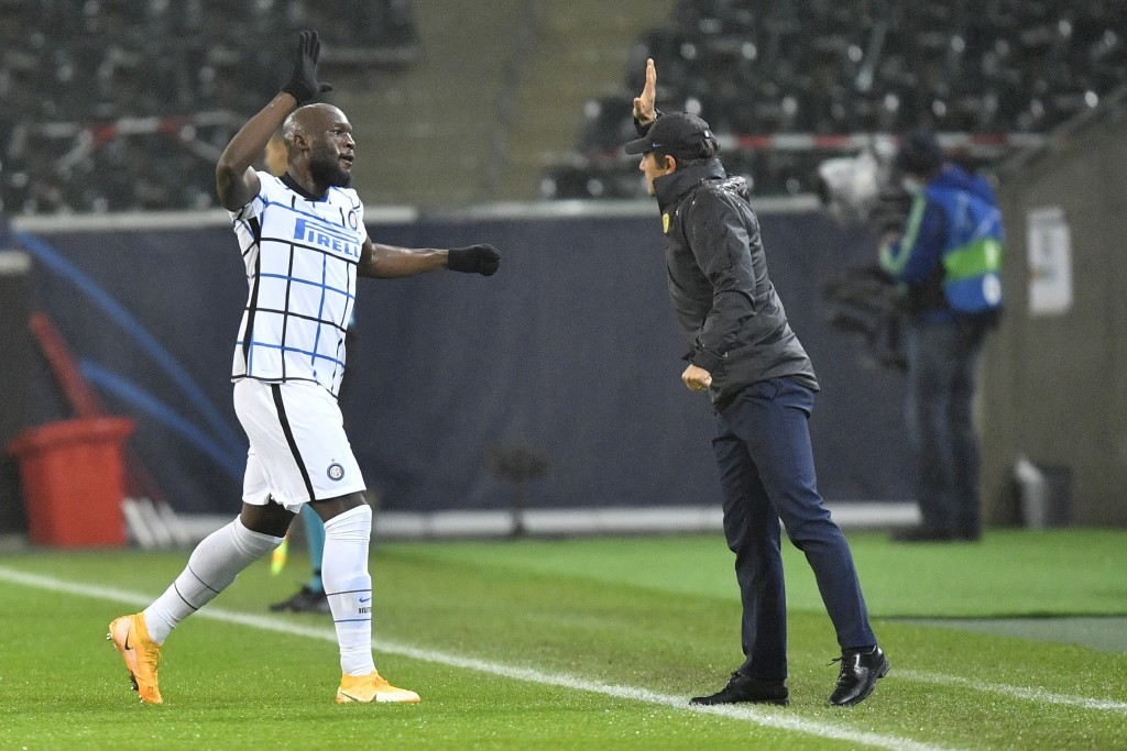 Lukaku fires Inter to 3-2 win over Gladbach to avoid CL exit | Taiwan News  | 2020/12/02