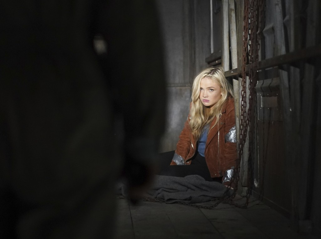 """This image released by ABC shows Natalie Alyn Lind in a scene from """"Big Sky."""" Native American tribes and coalitions are condemning """"Big Sky,"""" a Montan..."""