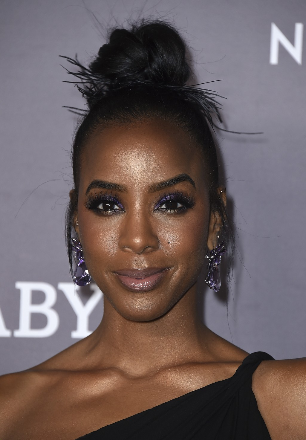 """FILE - Kelly Rowland arrives at the 2019 Baby2Baby Gala in Culver City, Calif. on Nov. 9, 2019. Rowland's song """"Coffee"""" was named one of the top 10 of..."""