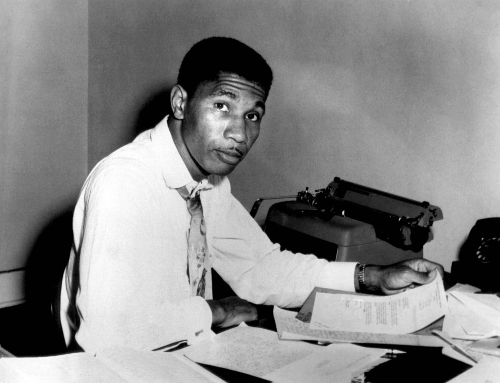 FILE - In this Aug. 9, 1955 file photo, Medgar Evers, state secretary for the NAACP poses for a photo in Jackson, Miss. The historic home of slain civ...
