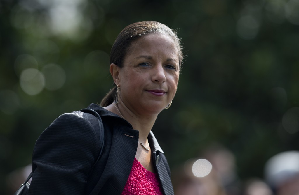 FILE - In this July 7, 2016, file photo, national security adviser Susan Rice on the South Lawn of the White House in Washington.  President-elect Joe...