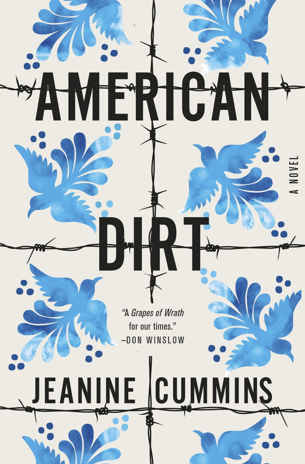 """This cover image released by Flatiron Books shows """"American Dirt,"""" a novel by Jeanine Cummins. The novel about Mexican immigrants had been widely cite..."""