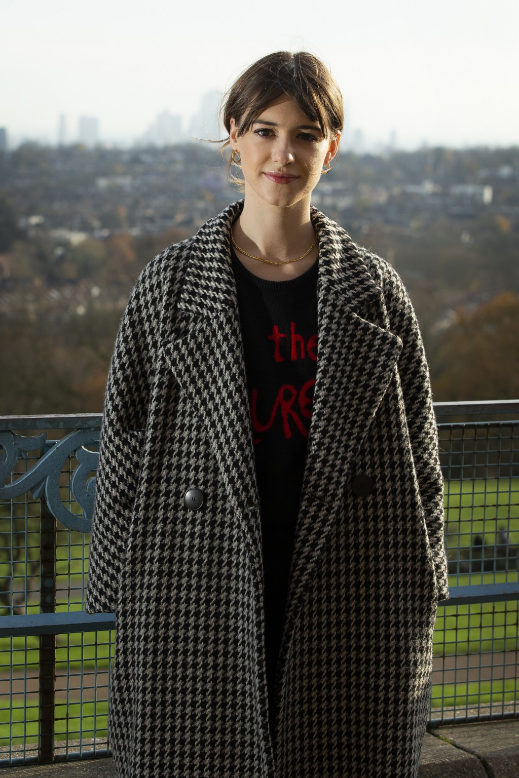 Actress Daisy Edgar Jones poses for portraits in a north London park, London, Tuesday, Nov 24, 2020. Jones has been named one of The Associated Press'...