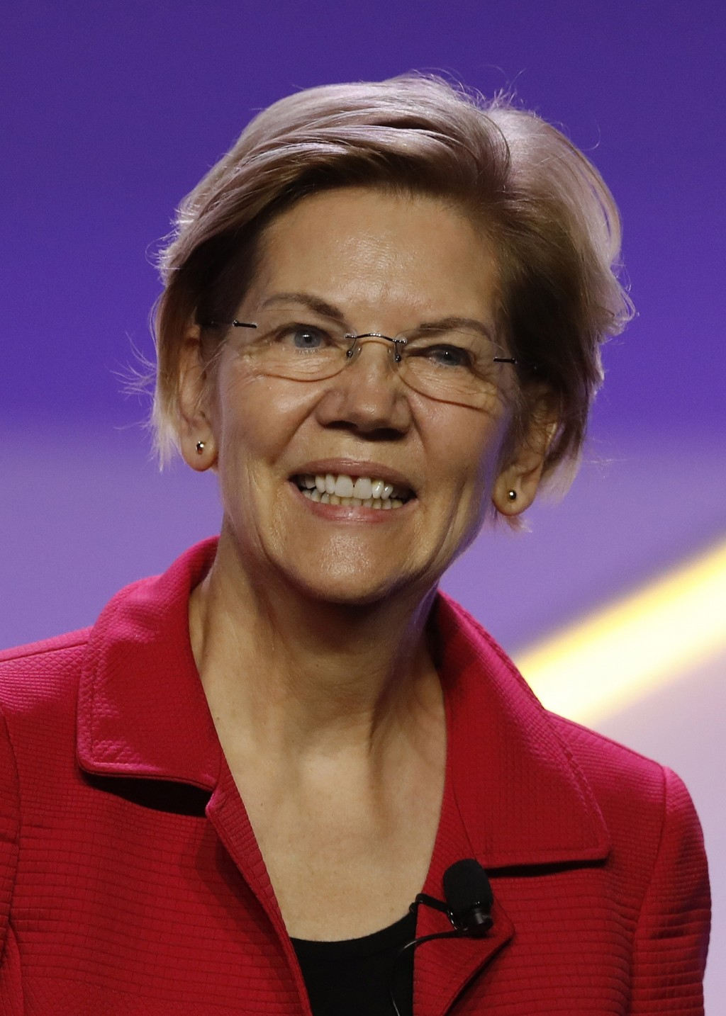 """FILE - Sen. Elizabeth Warren, D-Mass., attends the 110th NAACP National Convention on July 24, 2019, in Detroit. The senator has a book, titled """"Persi..."""
