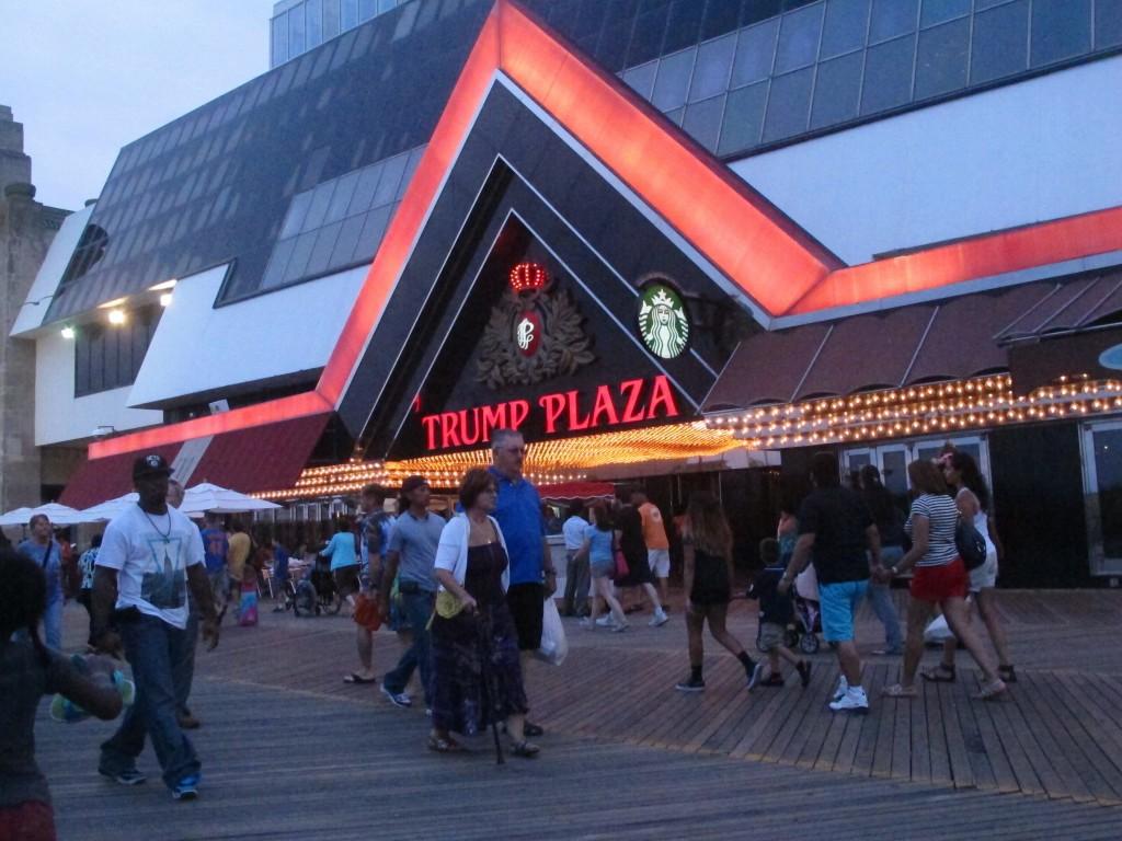 This July 24, 2014 photo shows the former Trump Plaza casino in Atlantic City, N.J. On Wednesday, Dec. 16, 2020, Atlantic City Mayor Marty Small annou...