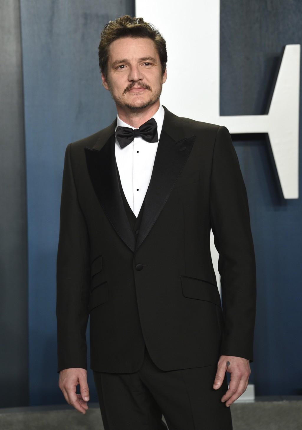 FILE - Pedro Pascal arrives at the Vanity Fair Oscar Party on Feb. 9, 2020, in Beverly Hills, Calif. Pascal is having a big December, with the second ...