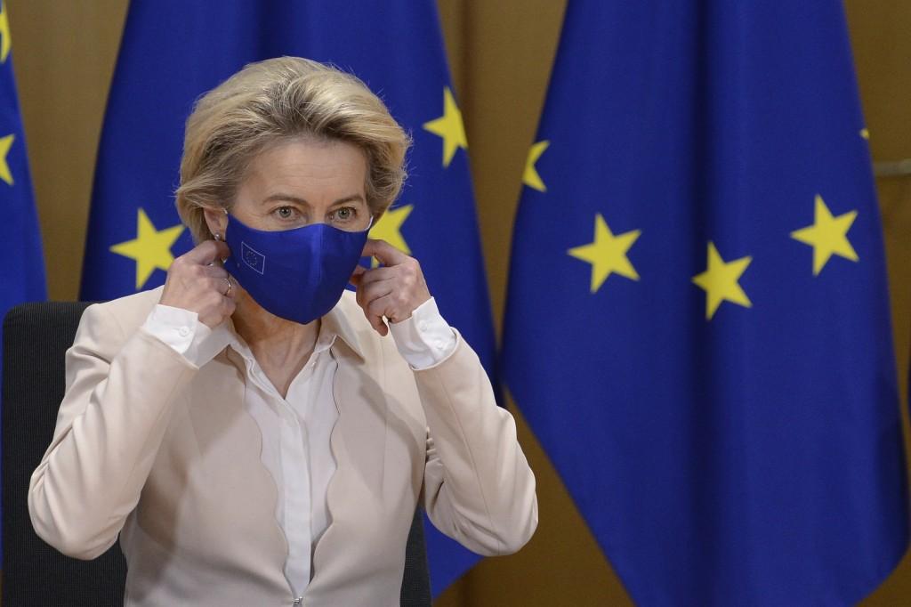 歐盟執委會主席范德賴恩(照片來源:美聯社)