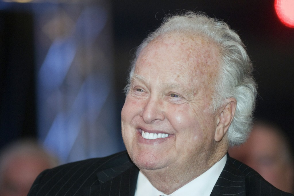 FILE - This Jan. 25, 2011, file photo shows 1956 Heisman Trophy winner and Louisville native Paul Hornung smiling at comments by former coach Howard S...