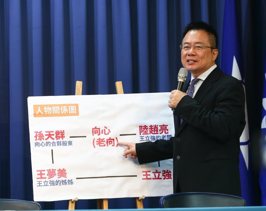 Alex Tsai at press conference.