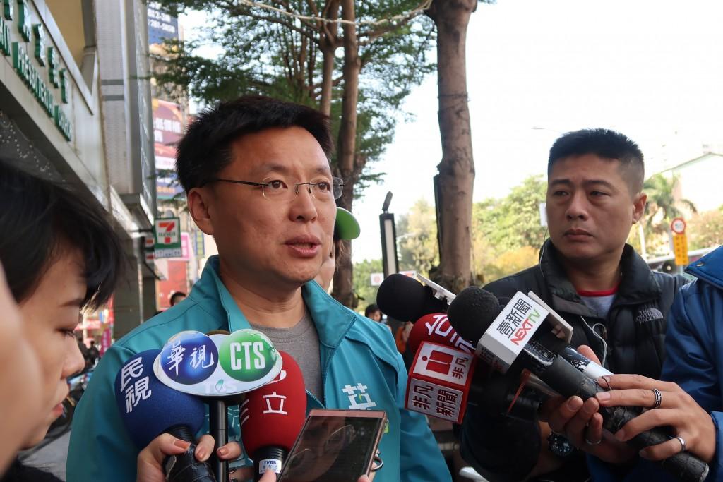 DPP legislatorChao Tien-lin.