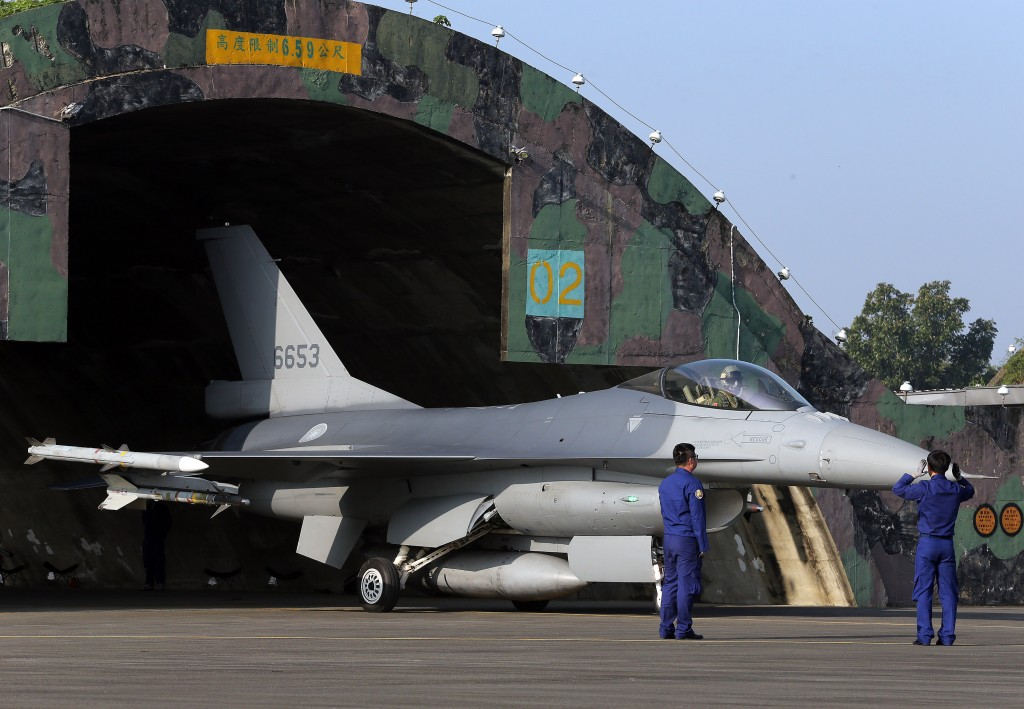 Taiwan's Air Force constructing hangars, storage facilities for new F-16V fighters | Taiwan News | 2021/04/03
