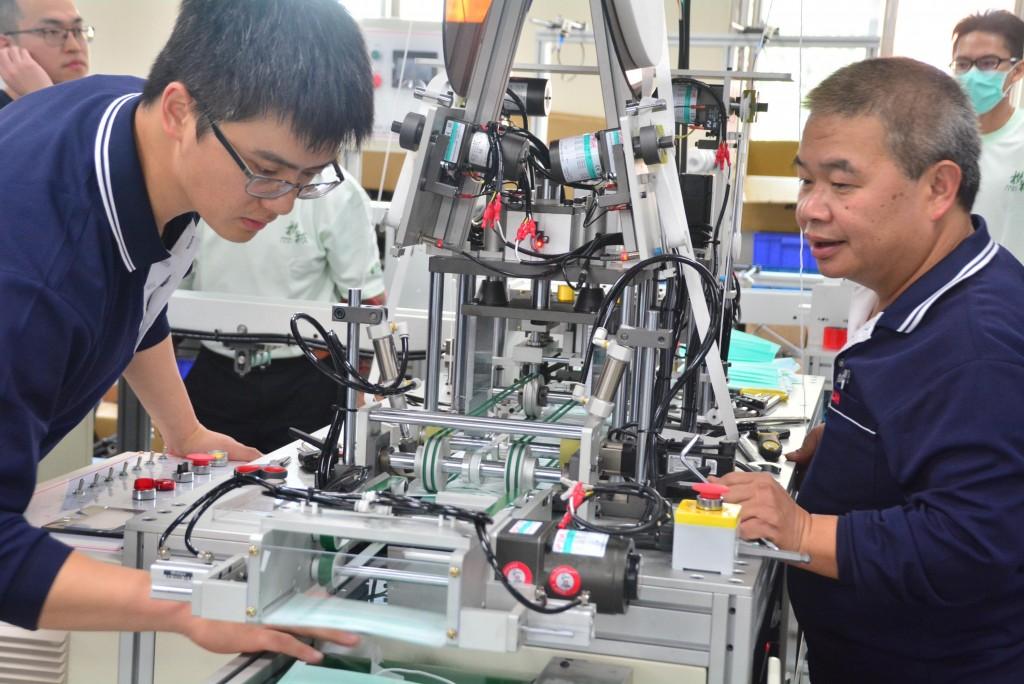 Mask making equipment in Taiwan
