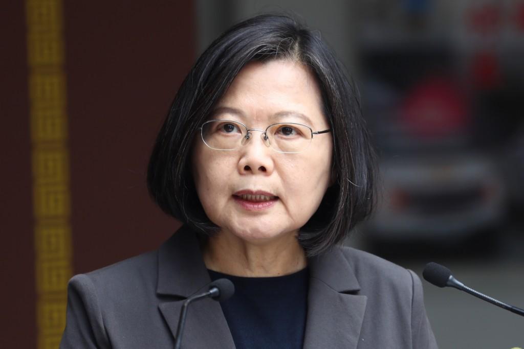 Taiwan Presiden Tsai Ing-wen.