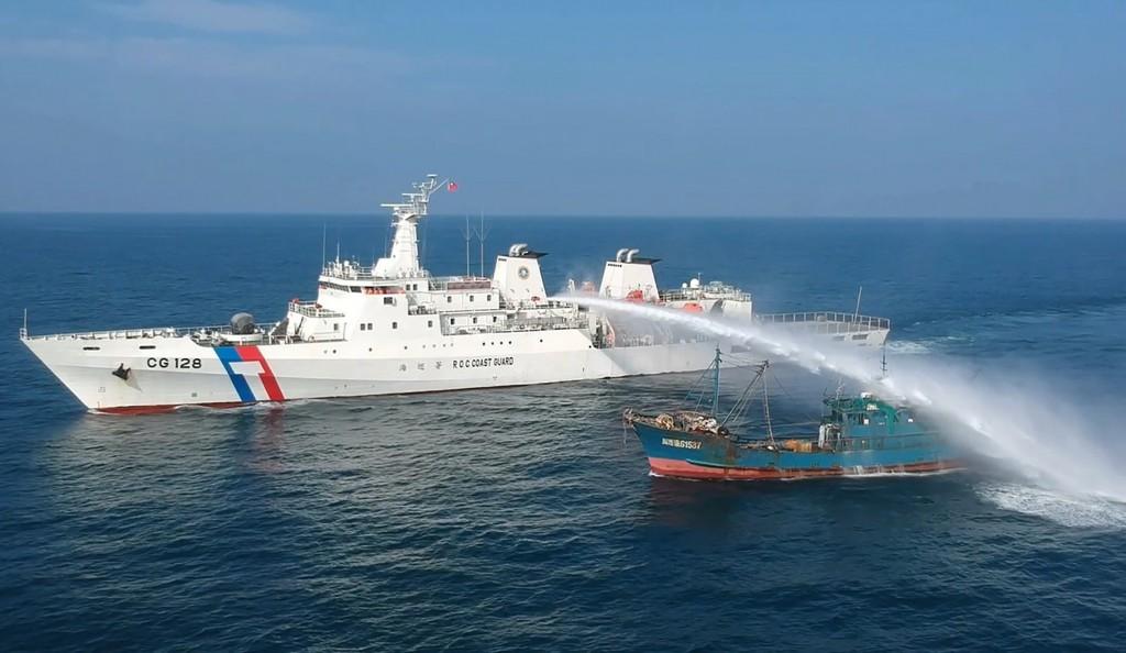 Taiwan coast guard patrol vessel