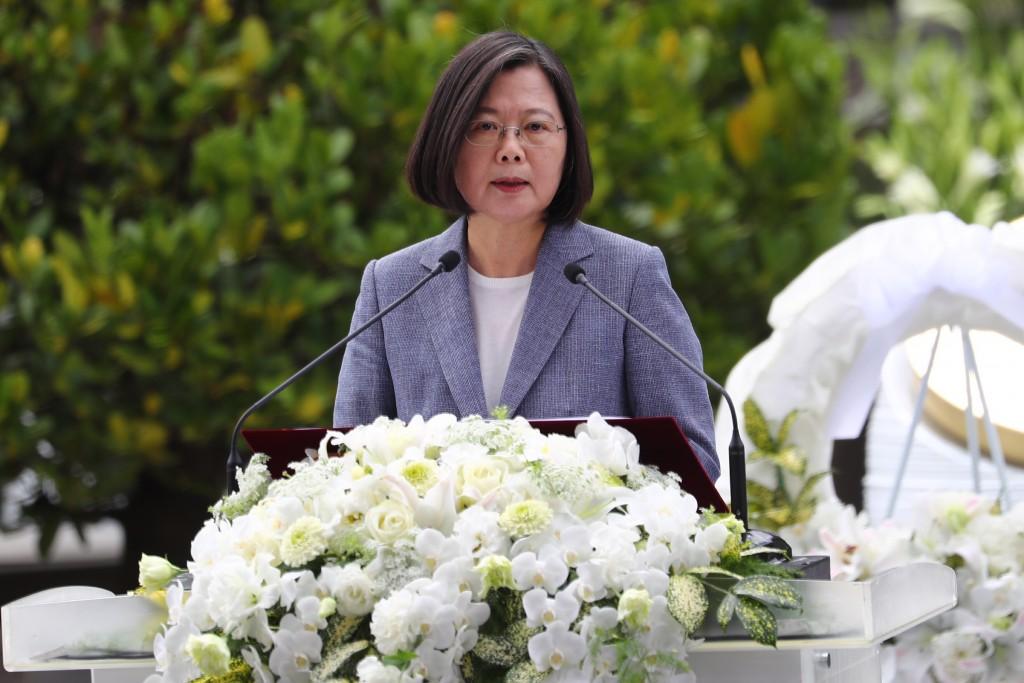 President Tsai Ing-wen.