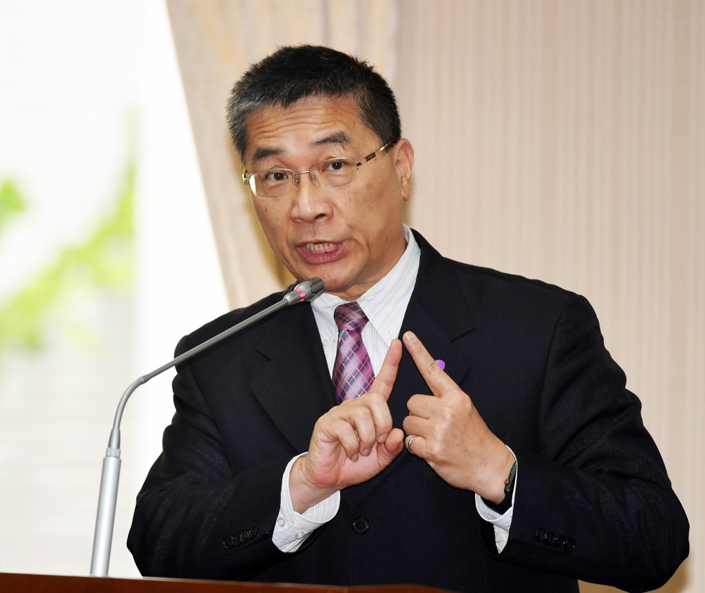 Interior MinisterHsu Kuo-yung.
