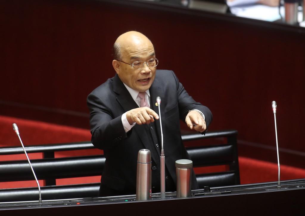 Taiwanese Premier Su Tseng-chang