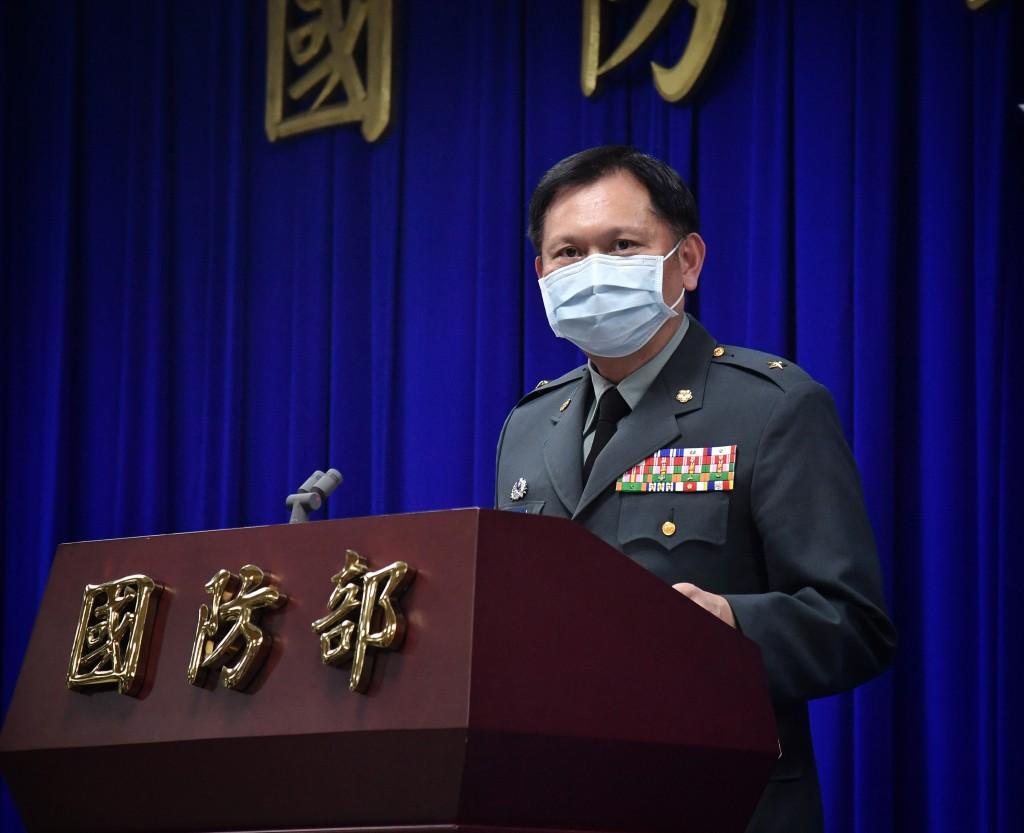 國防部發言人 史順文(圖)