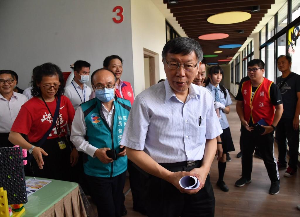 Taipei Mayor Ko Wen-je