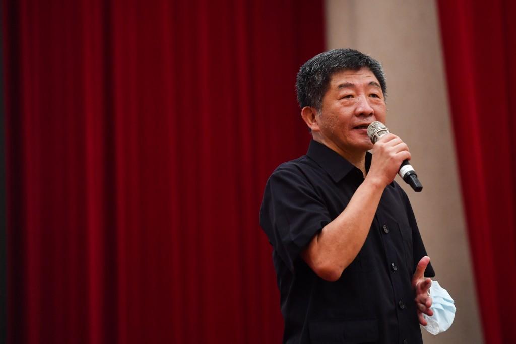 Health and Welfare Minister Chen Shih-chung