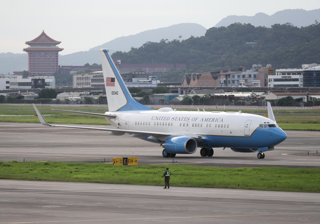 Highest-level US official to visit Taiwan in 41 years lands in Taipei