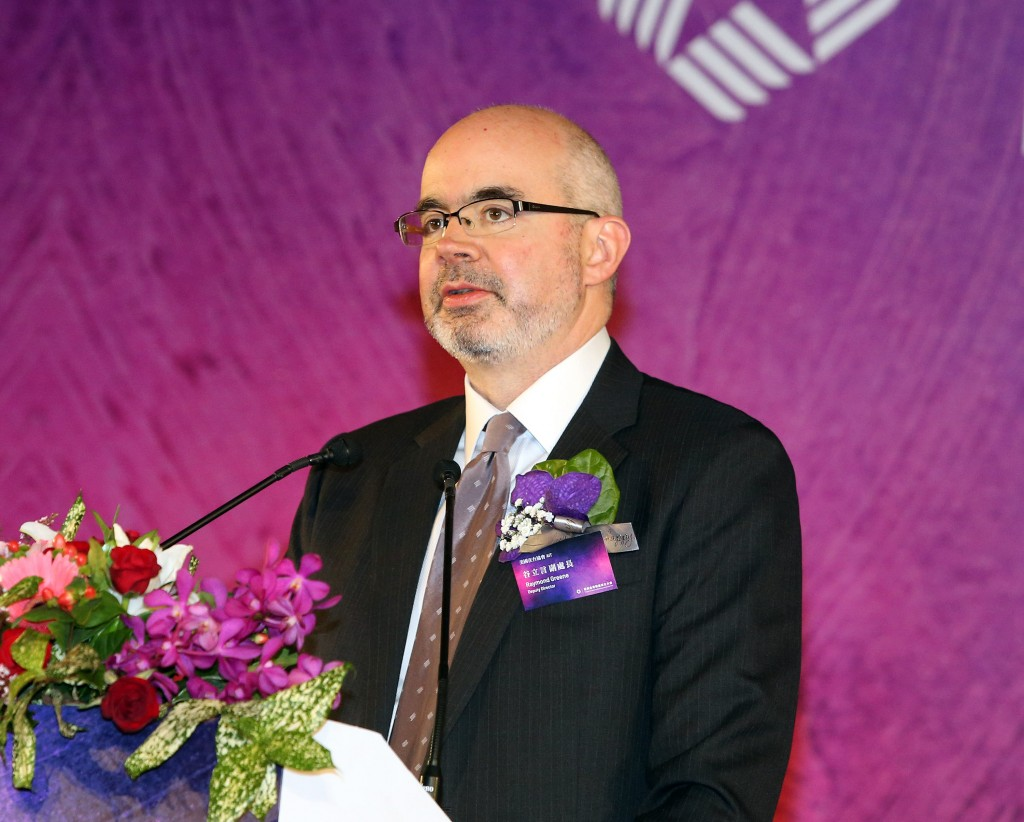 American Institue in Taiwan Deputy Director Raymond Greene