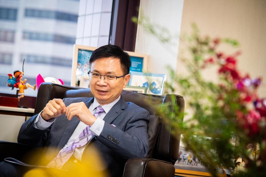 外貿協會董事長黃志芳