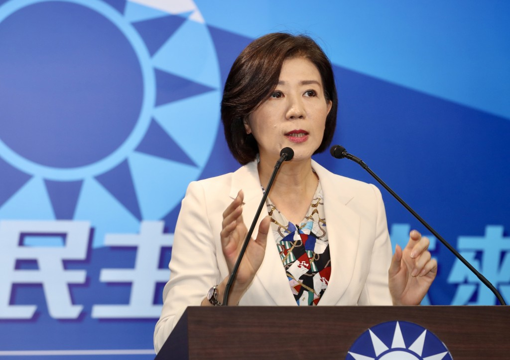Wang Yu-min, head of the KMT's Culture and Communications Committee