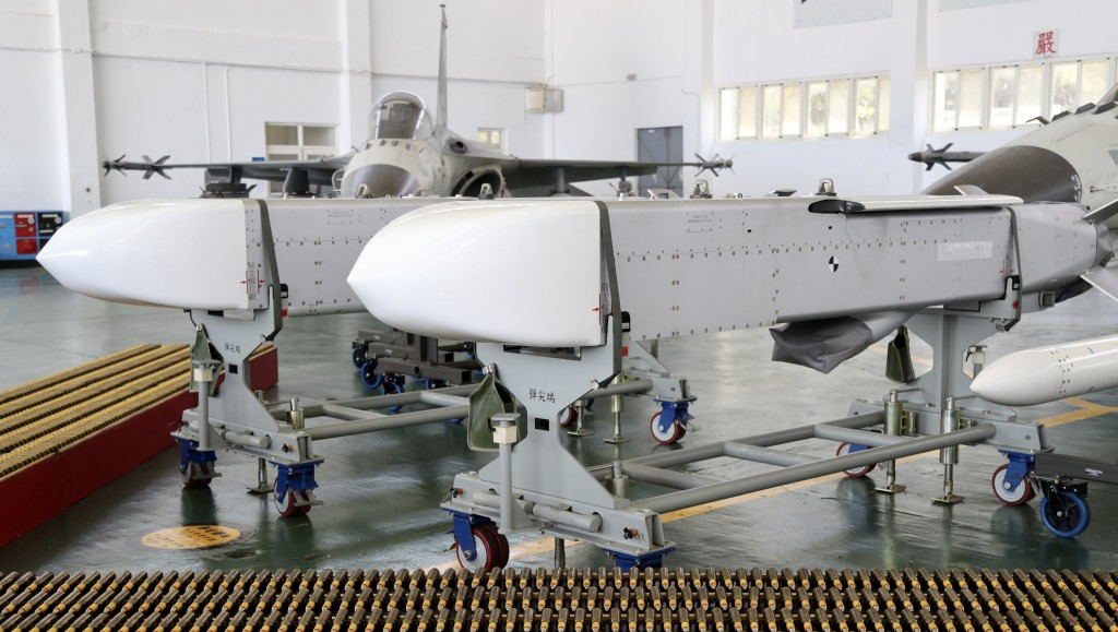 Taiwan's domestically produced Wan Chien missile.