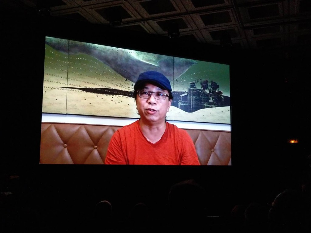 Artist Huang Hsin-chienwas also a winner at Paris New Video Art Festival. (CNA, Taiwan Cultural Center in France photo)