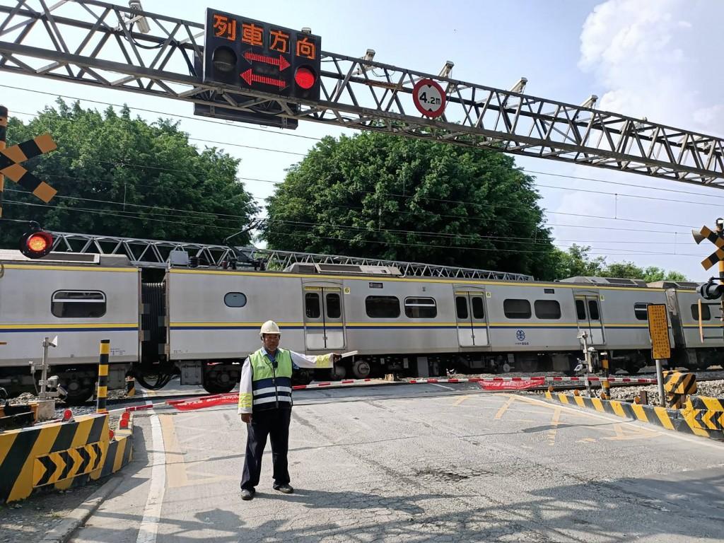 台鐵鐵路平交道示意圖
