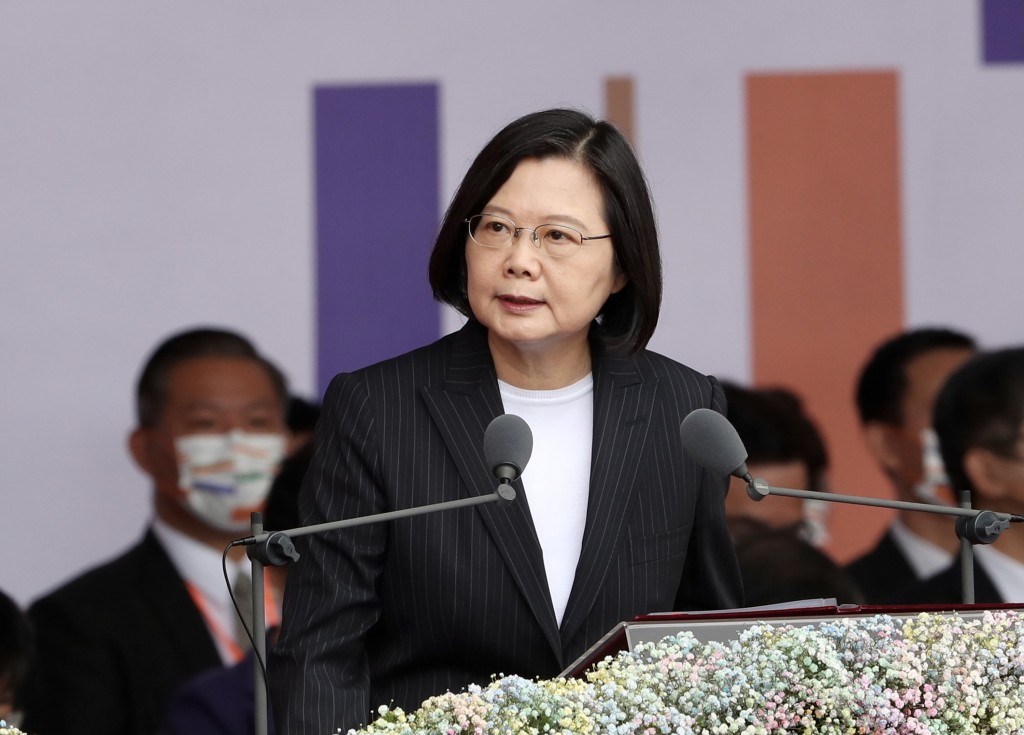 President Tsai Ing-wen delivers National Day address on Oct. 10