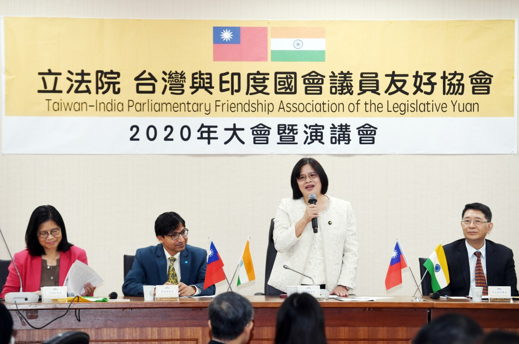 Taiwanese lawmakers are hoping for closer ties with India