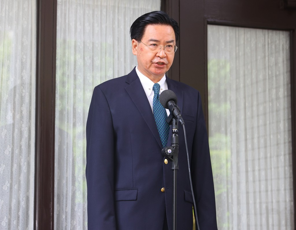 Taiwan's Minister of Foreign Affairs Joseph Wu.