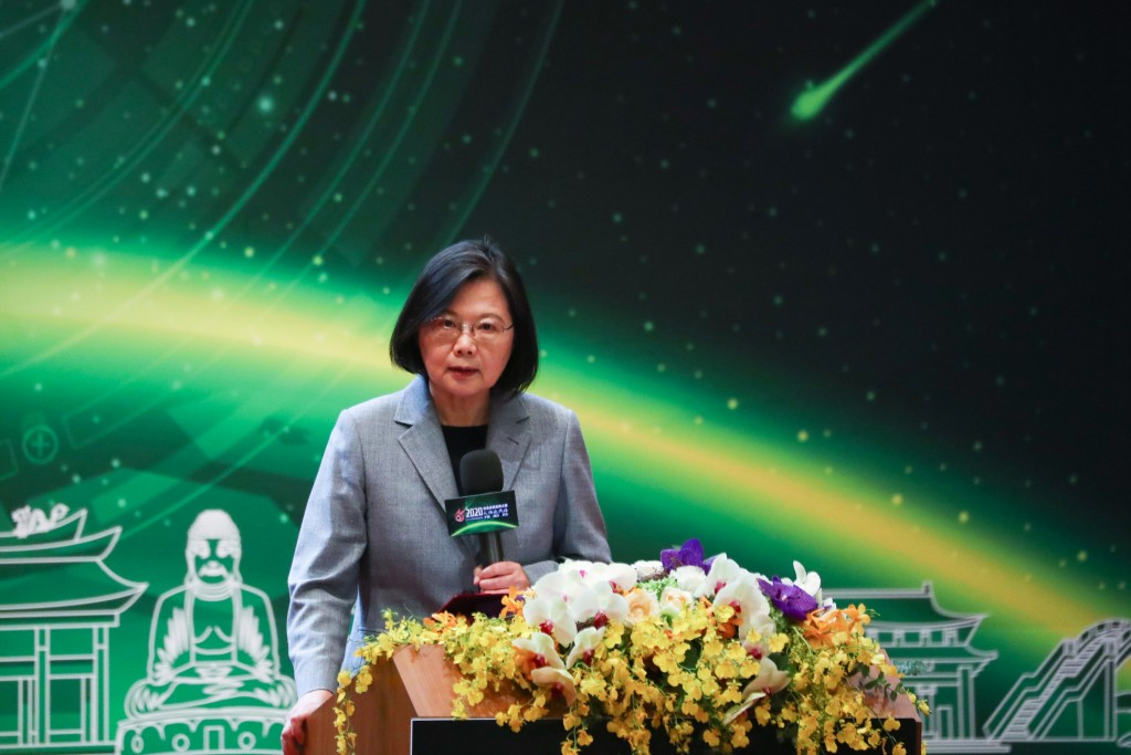 President Tsai attends event marking CPC's 65th anniversary.