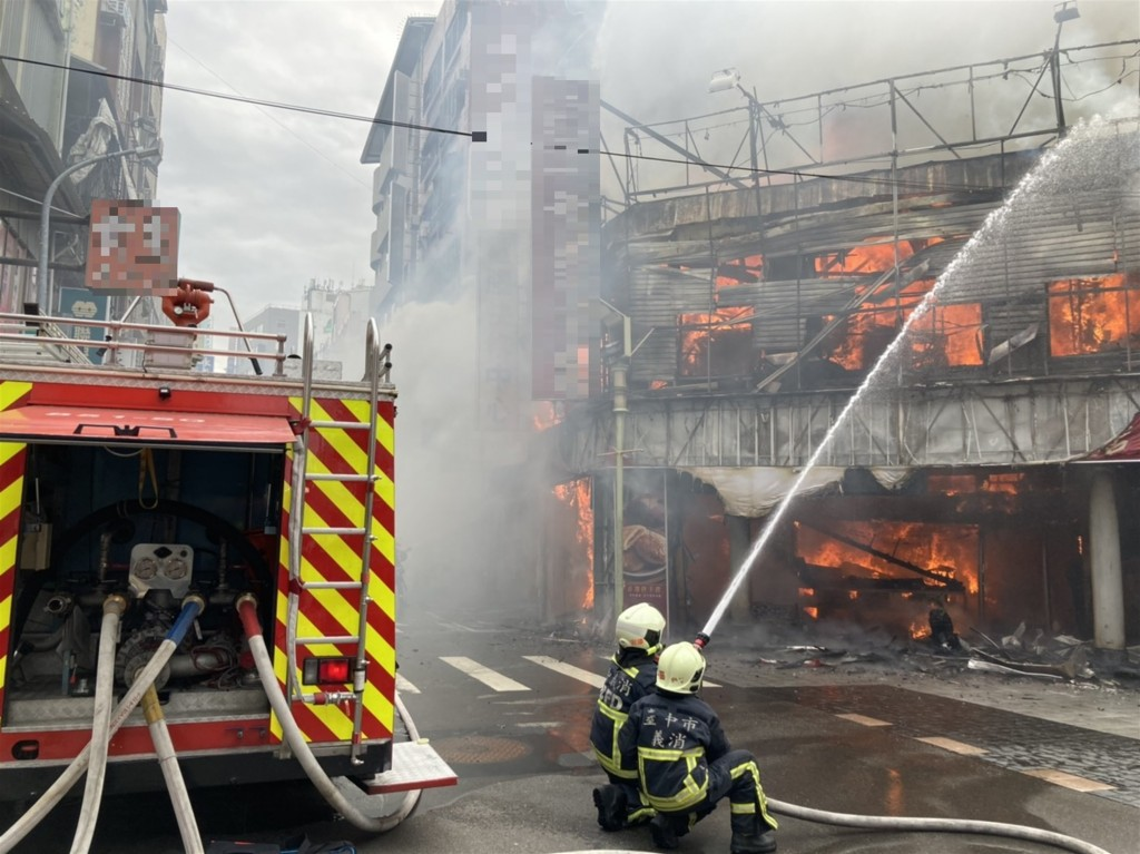 Historic pastry shop burns down in central Taiwan