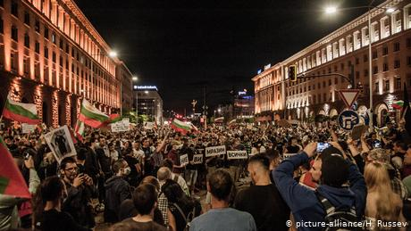 Bulgaria: Anti-government protests continue for a ninth day