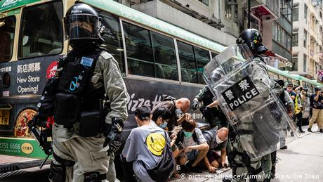 Britain suspends Hong Kong extradition treaty